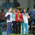 Imagens das finais do Ligeiro feminino (-48kg) e masculino (-60kg) nas Olimpíadas do Rio 2016